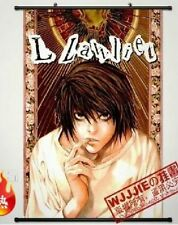 Japanese Anime Wall poster Scroll DEATH NOTE L Anime Cosplay Home Decor 40X60cm