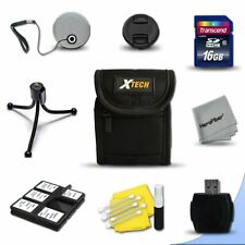 Starter Accessory Kit for Canon Powershot A2100 A2000 A1400 A1300 A1200 A10100