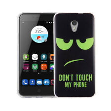Étui de Portable Motif Etui Protection Cover pour ZTE Blade V7 Dont Touch Vert