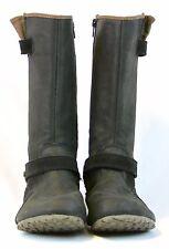 Merrell Haven Autumn Boots Black Leather Suede Mid-Calf Waterproof Women Zip 8