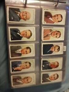 Radio Celebrities (1935) -  2nd series Wills Cigarette Cards - Buy 2 & Save