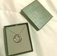 ZALES Diamond Accent Three Circle Pendant in .925 Sterling Silver