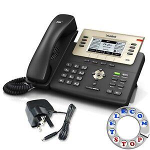 Yealink SIP-T27G 6 Line Gigabit IP Telephone & PSU - Inc Warranty