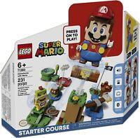 LEGO Super Mario Adventures With Mario Starter Course (71360) 231 Pieces