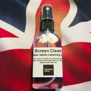 Screen cleaner spray. Phone tablet tv iMac laptop Apple Watch LED LCD anti glare