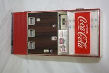 Vintage Coca-Cola Drink Vending Machine Piggy Bank Tested Non Working ~107