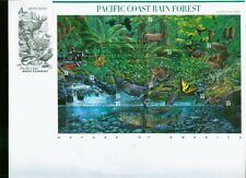 PACIFIC COAST  RAINFOREST FIRST DAY COVER