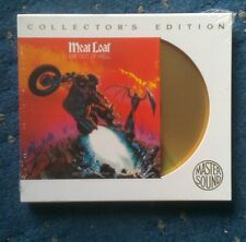 Meatloaf Bat Out Of Hell Collectors Edition cd , Master Sound 1977 24K GOLD DISC