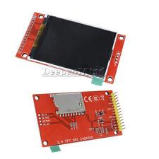 "240x320 2.4"" SPI TFT LCD Serial Port Module+3.3V PCB Adapter SD ILI9341"