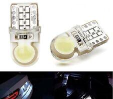 Nouveau 2 Ampoules LED T10 culot  W5W 8 SMD Blanc Xenon Silica  Ultra Puissantes