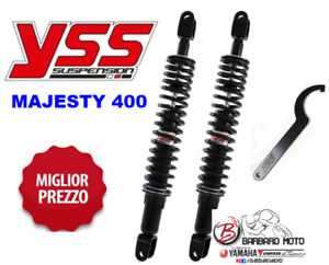 Pair Shock Absorbers Rear Adjustable YSS Yamaha majesty 400 From 2004 A 2012