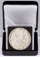 1780 Austria Maria Theresa Silver Thaler (19th Century Restrike) In Cap SKU47851