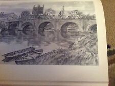 E2-1 Ephemera 1948 Picture 8x6 Inch Approx wye bridge hereford