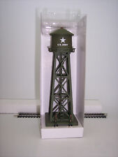 """HO US ARMY """"FLASHING""""  WATER TOWER BY MODEL POWER # 632 US ARMY """"FLASHING"""""""