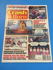 Crash & Burn Dirt Bike Motorcycle Magazine January 1993 Dirt Wheels 3Wheeling