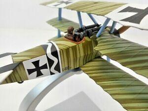 CORGI 1:48 AA38303 FOKKER DR1 TRIPLANE JASTA 6 JOHANNES JANZEN, 3/1918 GERMAN P1