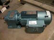 SEW Motor DFT80M4BMS1MFKS 1 HP 3 Phase Gear Box R27DT80N4BNGANF-KS