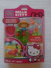 Hello Kitty Mega Bloks Set 10923 Flower Garden NEW
