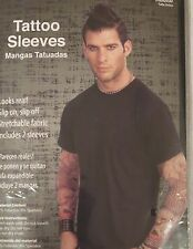 Halloween Tattoo Sleeves Adult One Size Set of Two NEW