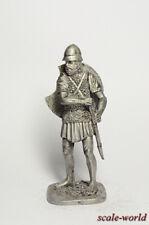 Tin toy soldier. Ancient Greek warrior 54 mm