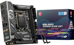 MSI MPG B560I GAMING EDGE WIFI ITX Motherboard for Intel LGA1200 CPUs