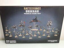 Games Workshop Warhammer 40000 Drukhari Poisonblade Raiding Party Battleforce