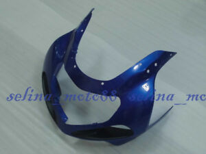 Front upper nose fairing Cowl Fit For SUZUKI 2001-2003 2002 GSXR600 GSXR750 Blue