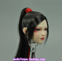 "VERYCOOL VCF-2039 1/6 Nōhime Girl Head Sculpt Carving Pale Skin for 12"" Figure"