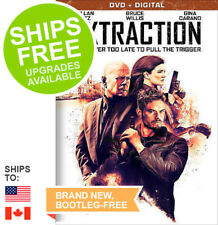 Extraction (DVD, 2016) NEW, Bruce Willis, Kellan Lutz, Gina Carano, Slipcover