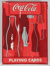 Playing Cards 351-R Coca-Cola Brand Bottle Box - Red Seal - Box Damaged & Taped