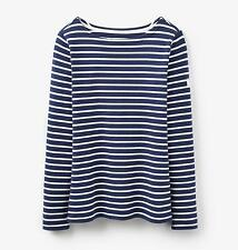 Joules Cotton Striped Regular Size Tops & Shirts for Women