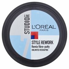 L'Oreal Studio Style Rework Remix Fibre Putty 150ml Mens Hair Styling Reshaping