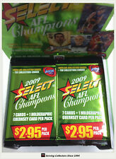 2009 Select AFL Champions Trading Cards Sealed Loose Packs Unit of 4--packs