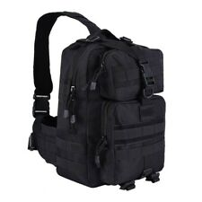 Tactical Molle 900D Shoulder Sling Backpack Military Army Assault Bag Pack Black