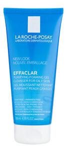 La-Roche Posay Effaclar Purifying Foaming Gel Cleanser for Oily Skin 6.76 fl oz.