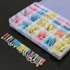 480PCS SET Heat Shrink Wire Connector Assortment Crimp Terminal Marine With Case