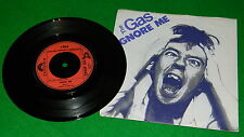 "THE GAS : Ignore me / Do it, don't tell me - Original 1981 7"" single EX/NM"