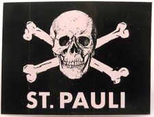 FC St.Pauli + Aufkleber + St.Pauli Totenkopf schwarz + Lizenzware #2018133
