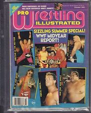 Pro Wrestling Illustrated October 1993 WWF Midyear Report  VG 042516DBE