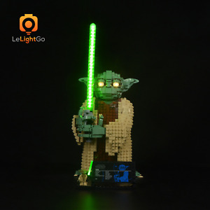 Light Set for Lego 75255 Yoda 75255 Lighting Bricks for Lego 75255 Yoda