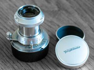 Voigtlander 50mm f3.5 Heliar Lens - 101 Anniversary Edition