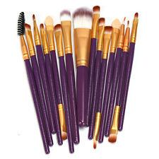 15pcs Makeup Brush Set tools Make-up Toiletry Kit Wool Make Up Brush Set Kit