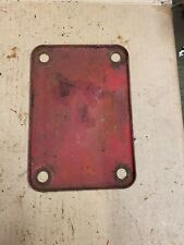 Case 1947sc Tractor Clutch Inspection Cover Part 01962ab