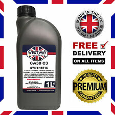 1L 0W30 C3 Fully Synthetic Engine Oil 0w/30 C3 - 1 Litre