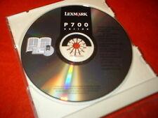 Lexmark P700 Software CD Printer
