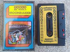 MOON RAIDER MICRO POWER PROGRAM - 1982 BBC MODEL B CASSETTE TAPE