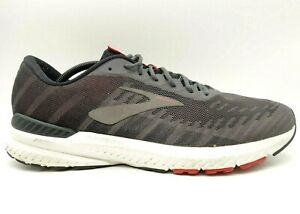 Brooks Ravenna 10 Gray Mesh Lace Up Athletic Running Shoes Men's 13 D