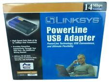 Cisco Linksys instant PowerLine USB Adapter PLUSB10 14Mbps Plug and Play NEW!!