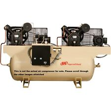 Ingersoll Rand Air Compressor- Duplex, 7.5 HP, 230 Volt 3 Phase (USED)