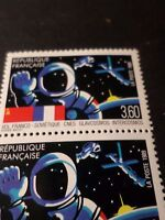 FRANCE 1989 VARIETE PLUSIEURES COMETES BLEUES, timbre 2571, neufs**, VF VARIETY